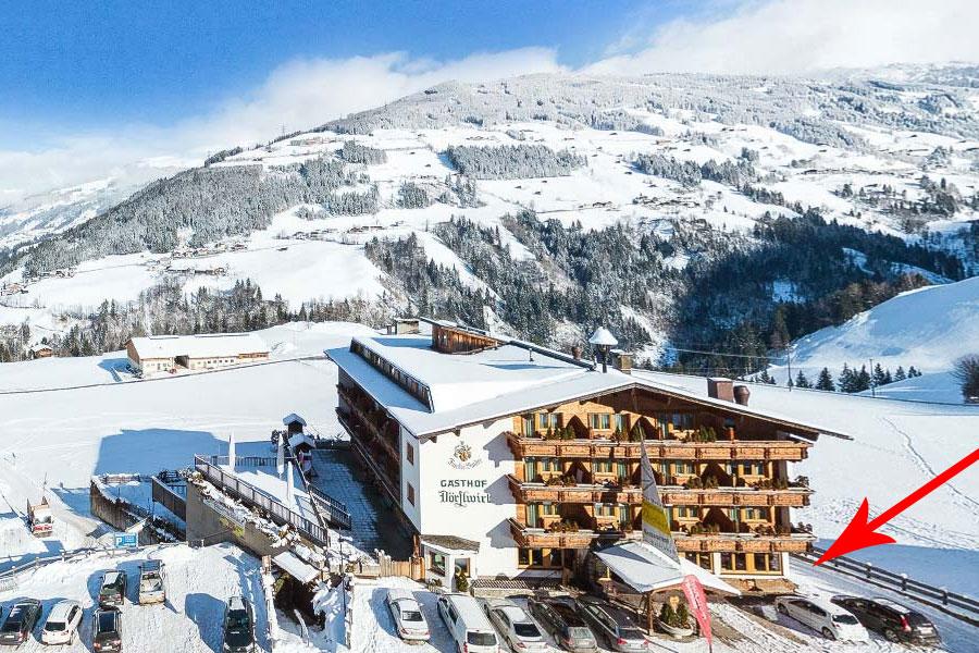 Hainzenberg zillertal arena for Design hotel zillertal